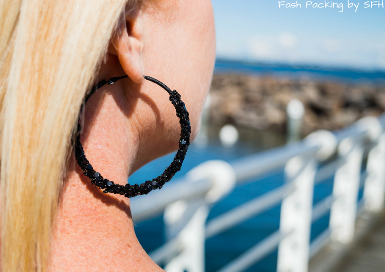 Fash Packing by Sydney Fashion Hunter: Bondi Lifestyle in St Kilda FFF54 - Earrings