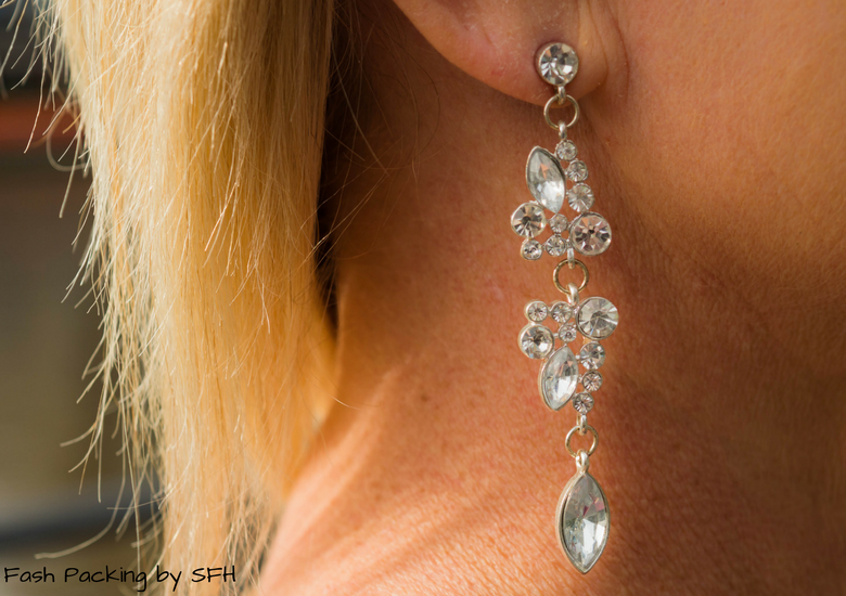 Fash Packing by Sydney Fashion Hunter: Fresh Fashion Forum 53 - Ruby Lace Dress - Earrings