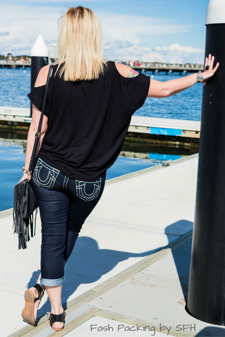 Sydney style is very relaxed but it works just as well in Melbourne :) Full outfit here http://bit.ly/sfh-fff54