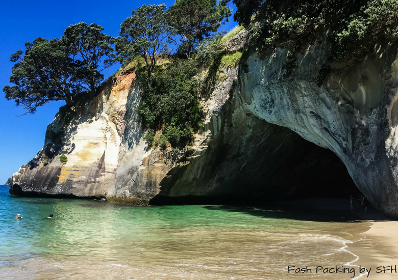 Fash Packing by SFH: Cathedral Cove Kayak Tours - Cathedral Cove