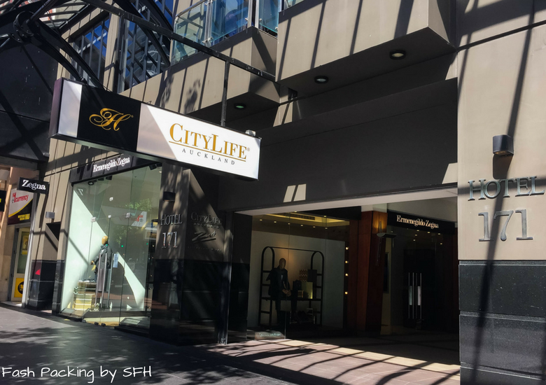 Fash Packing by SFH: CityLife Auckland Review - Exterior