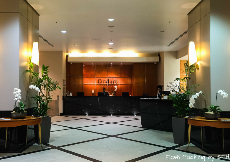 Fash Packing by SFH: CityLife Auckland Review - Front Desk