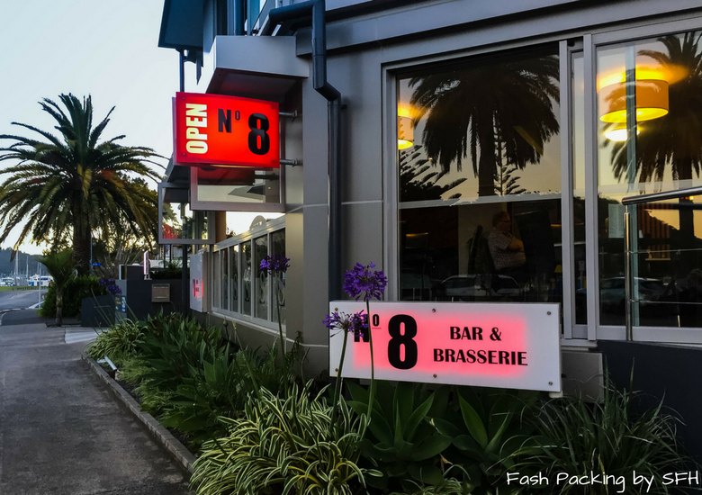 Fash Packing by SFH: No.8 Bar & Restaurant Whitianga - Exterior