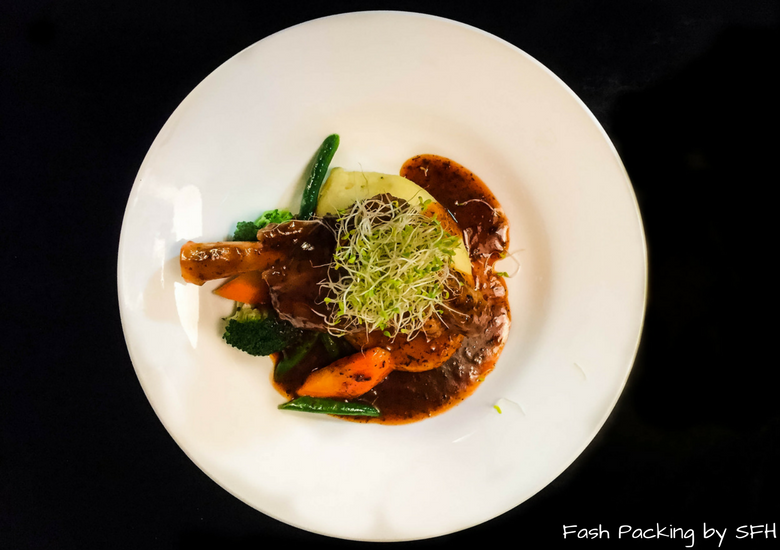 Fash Packing by SFH: No.8 Restaurant & Bar Whitianga - Lamb Shank