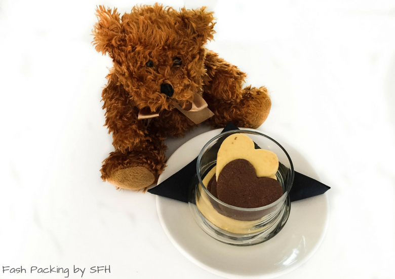 Fash Packing by SFH: Regent Of Rotorua A Boutique Hotel - Teddy Bear & Shortbread