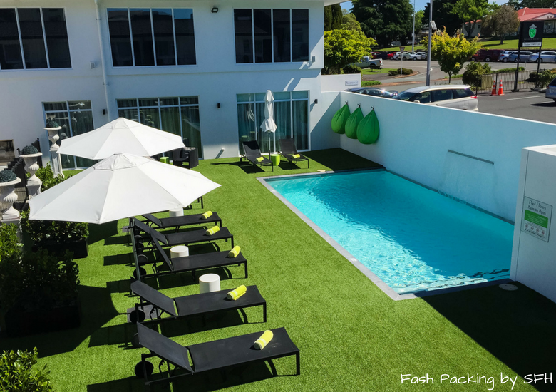 Fash Packing by SFH: Regent Of Rotorua A Boutique Hotel - Pool