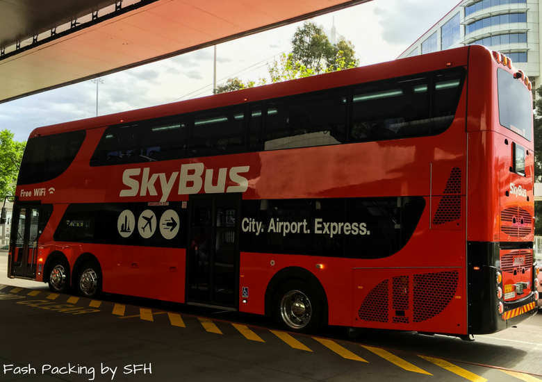 Fash Packing by SFH: SkyBus Melbourne
