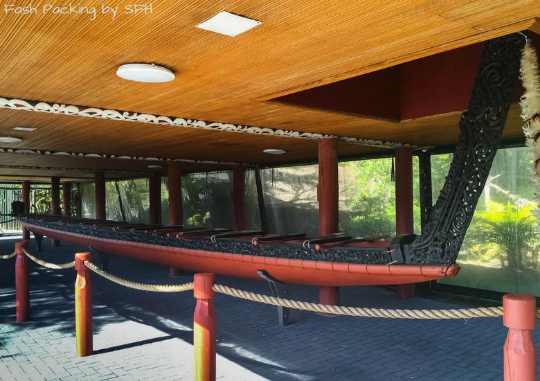 Fash Packing by SFH: Te Puia Rotorua Canoe