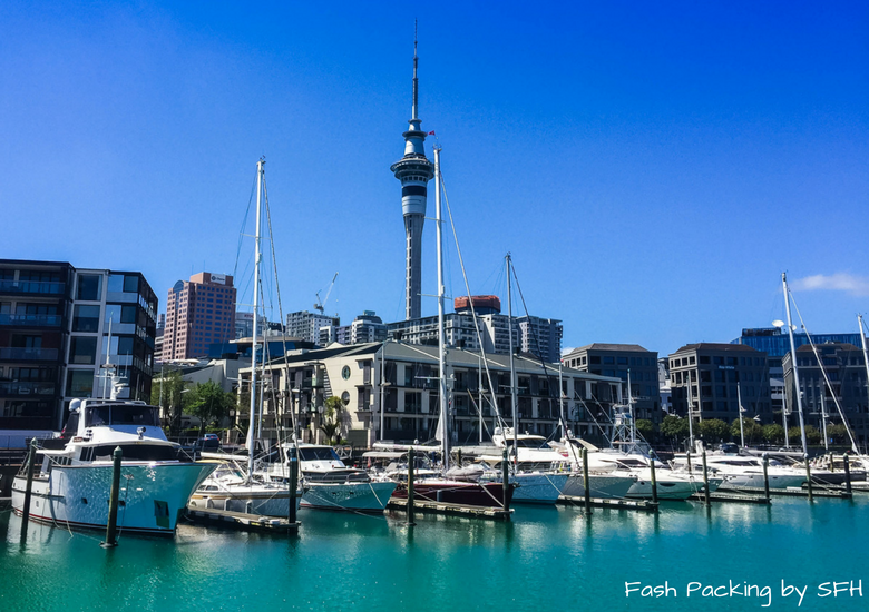 Fash Packing by SFH: New Zealand Travel Essentials - Auckland Harbour