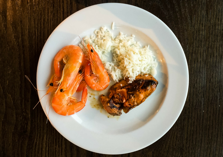 Fash Packing by SFH: Skyline Rotorua Stratosfare Restaurant - Prawns, Chicken & Rice