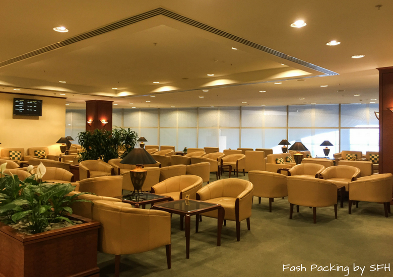 Fash Packing by SFH: Emirates A380 First Class Review - Auckland International Airport Emirates Lounge - Seating