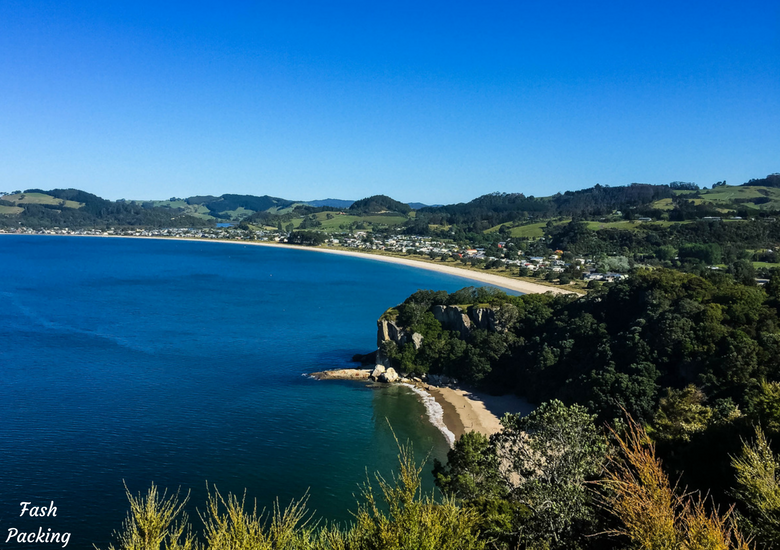 Fash Packing: New Zealand Road Trip 7 Day North Island Itinerary - Shakespeare Cliff Reserve