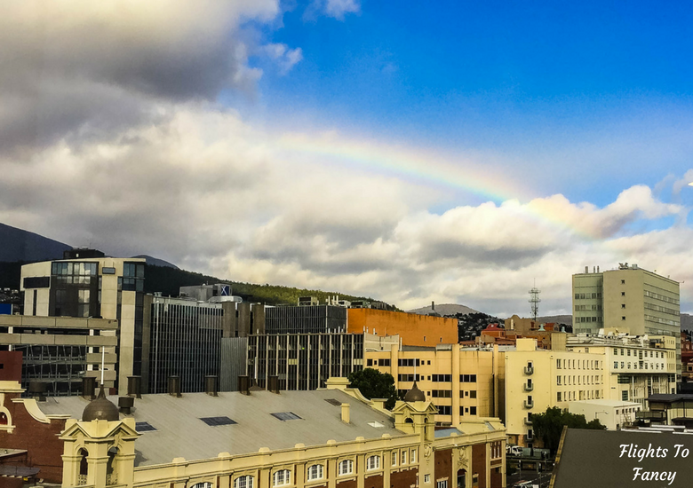 Flights To Fancy: Grand Chancellor Hotel Hobart - Rainbow