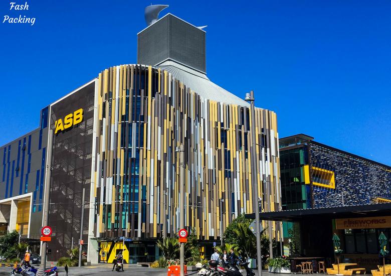 Fash Packing: A Stroll Through Auckland CBD & Viaduct Harbour - Auckland Viaduct Harbour ASB Building