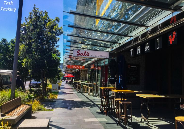 Fash Packing: A Stroll Through Auckland CBD & Viaduct Harbour - Auckland Viaduct Harbour Cafes
