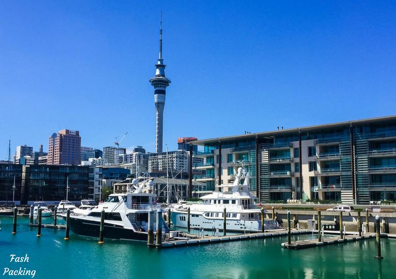 Fash Packing: A Stroll Through Auckland CBD & Viaduct Harbour - Auckland Viaduct Harbour Marina