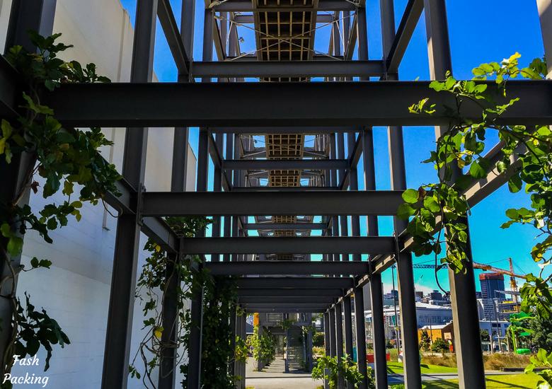 Fash Packing: A Stroll Through Auckland CBD & Viaduct Harbour - Auckland Viaduct Harbour The Gantry