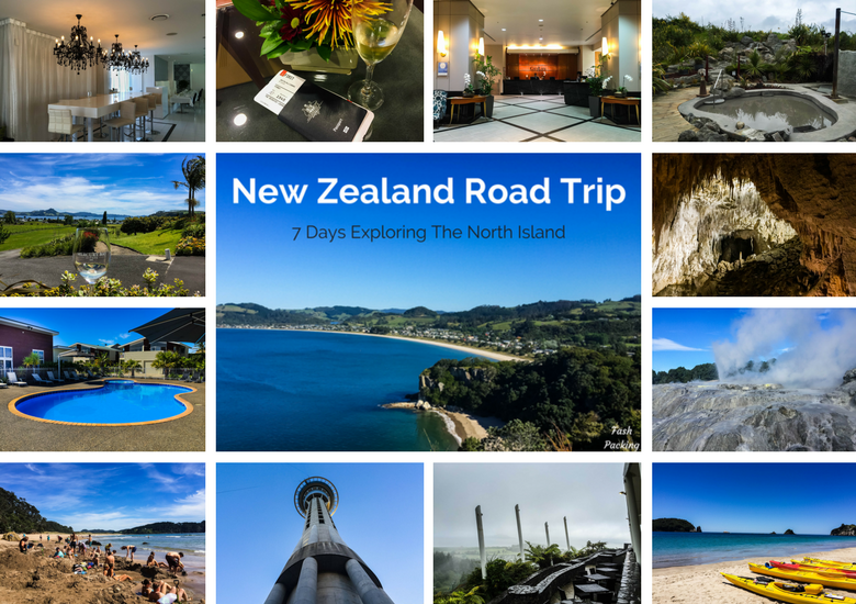 Fash Packing: New Zealand Road Trip 7 Day North Island Itinerary - Title