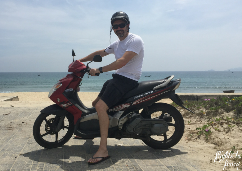 Flights To Fancy: Scooter in Hoi An