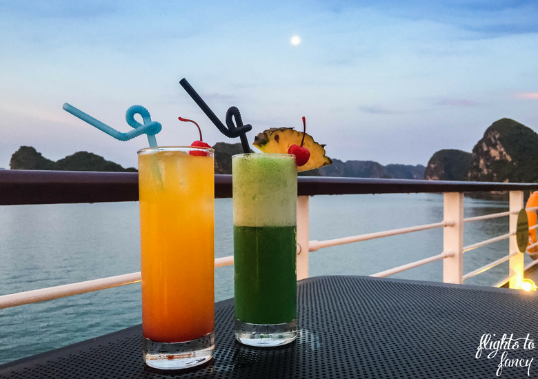 Flights To Fancy: Orchid Cruises Ha Long Bay - Cocktails