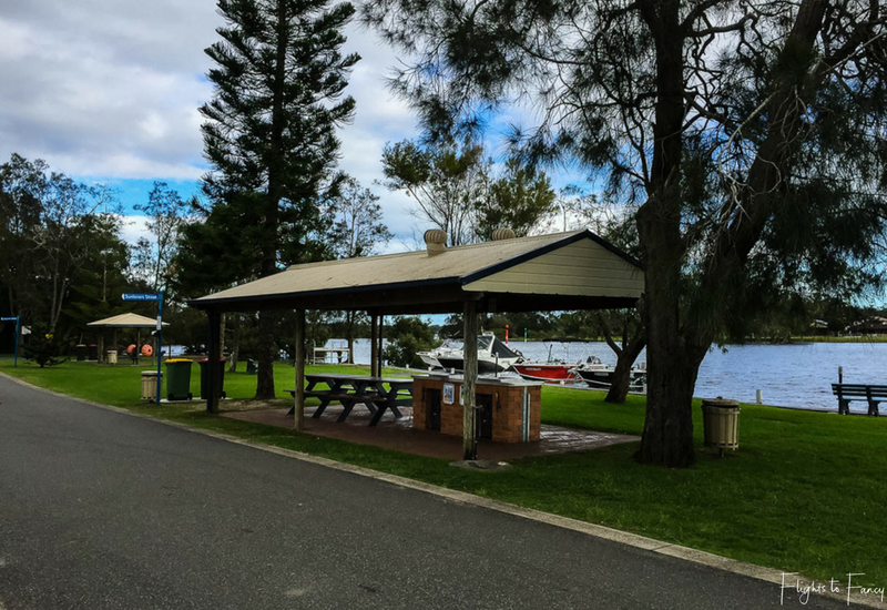 BBQ's at Great Lakes Forster Caravan Park