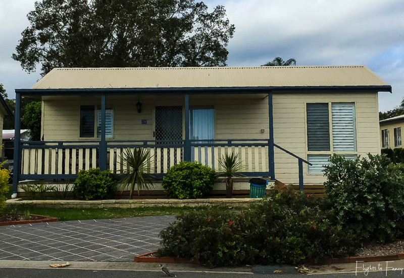 Cabin at Great Lakes Forster Caravan Park