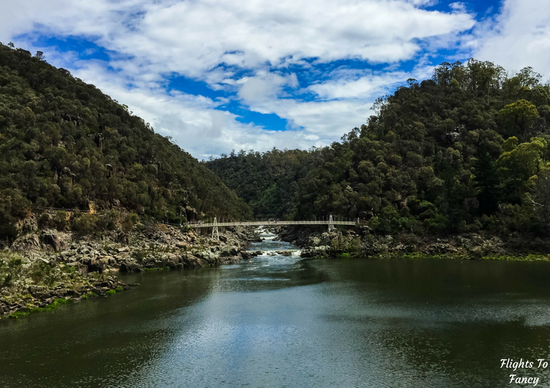 Flights To Fancy: A Rainy Day In Spectacular Cataract Gorge Launceston - Bridge