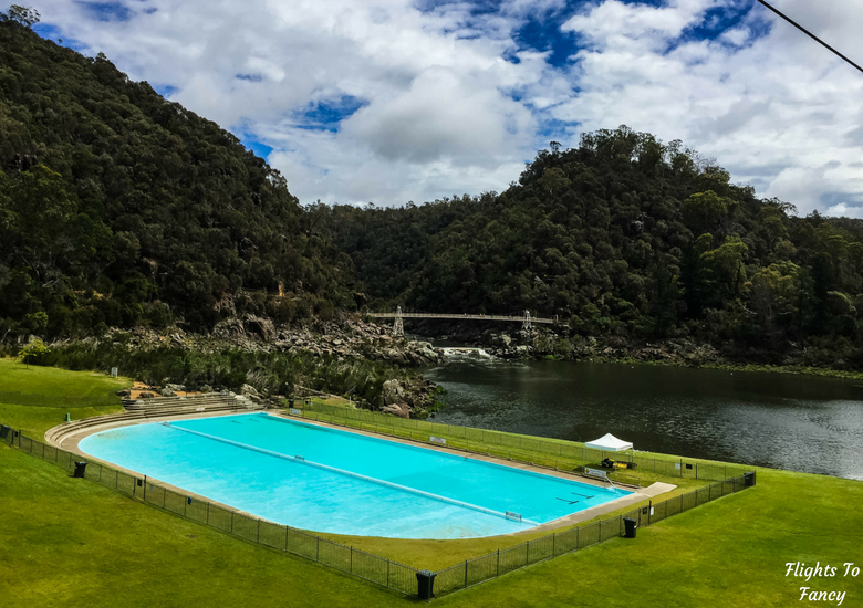 Flights To Fancy: A Rainy Day In Spectacular Cataract Gorge Launceston - Pool