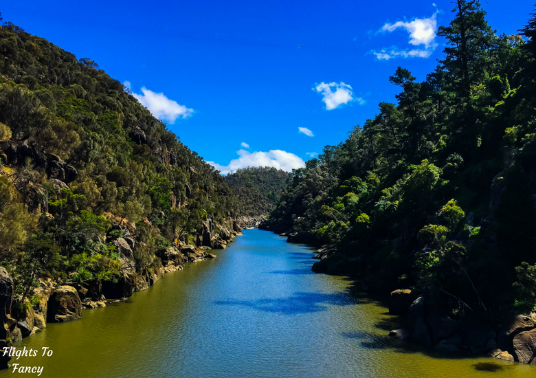 Flights To Fancy: A Rainy Day In Spectacular Cataract Gorge Launceston - River