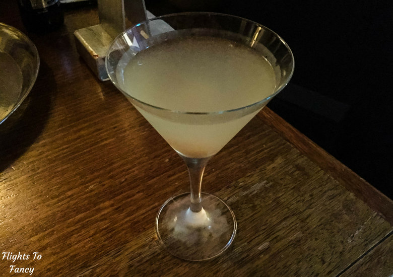 Flights To Fancy: Where To Eat in Hobart Harbour & Salamanca Place - Cargo Lychee Martini
