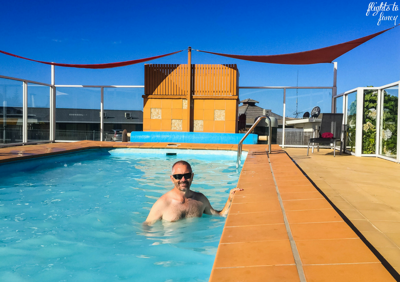 Flights To Fancy: Bicheno Tasmania: Freycinet's Most Affordable Town - Beachfront Bicheno Pool