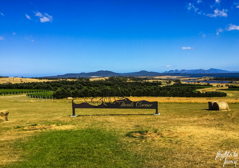 Flights To Fancy: Bicheno Tasmania The Most Affordable Place In Freycinet - Devils Corner Winery