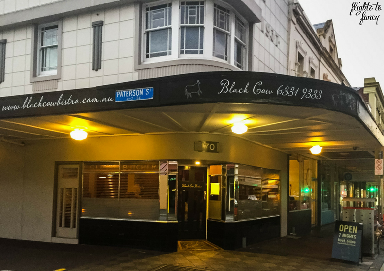 Flights To Fancy: Black Cow Bistro Launceston Australia's Best Steak? - Exterior