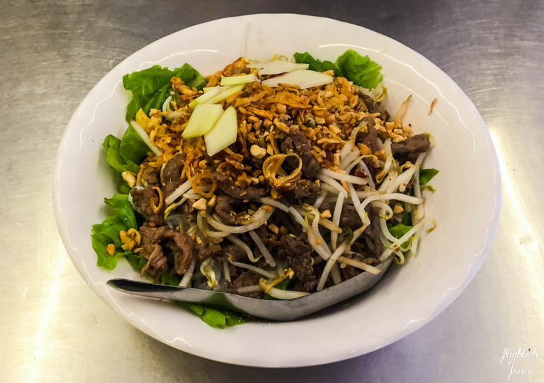 Flights To Fancy: Is Bun Bo Nam Bo Hanoi The Best Street Food In Hanoi?- Bun Bo Nam Bo