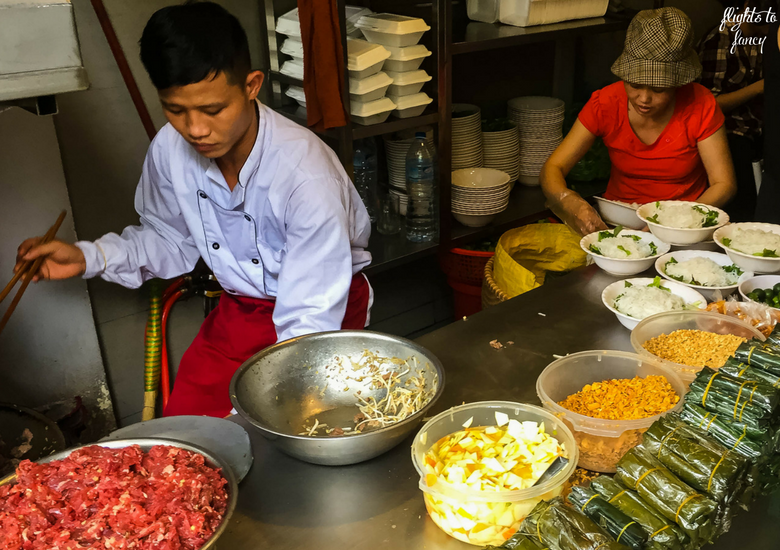 Flights To Fancy: Is Bun Bo Nam Bo Hanoi The Best Street Food In Hanoi? - Cooking