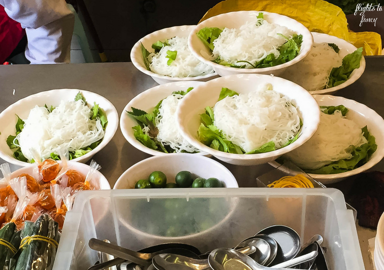 Flights To Fancy: Is Bun Bo Nam Bo Hanoi The Best Street Food In Hanoi? Preparation