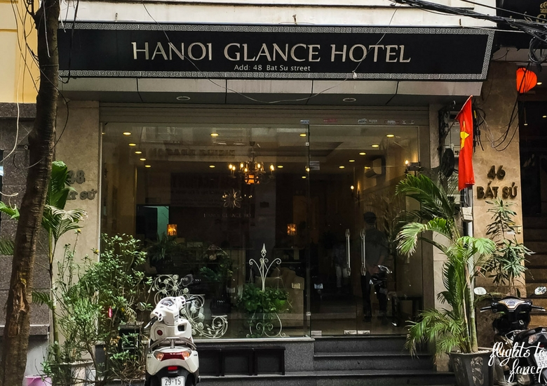 Flights To Fancy: Hanoi Glance Hotel Review - Exterior