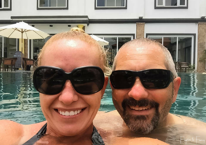 Flights To Fancy: Hoi An Hotel - Hoi An Sincerity Hotel Pool Selfie