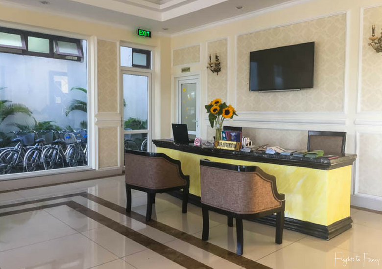 Flights To Fancy: Hoi An Hotel - Hoi An Sincerity Hotel Tour Desk