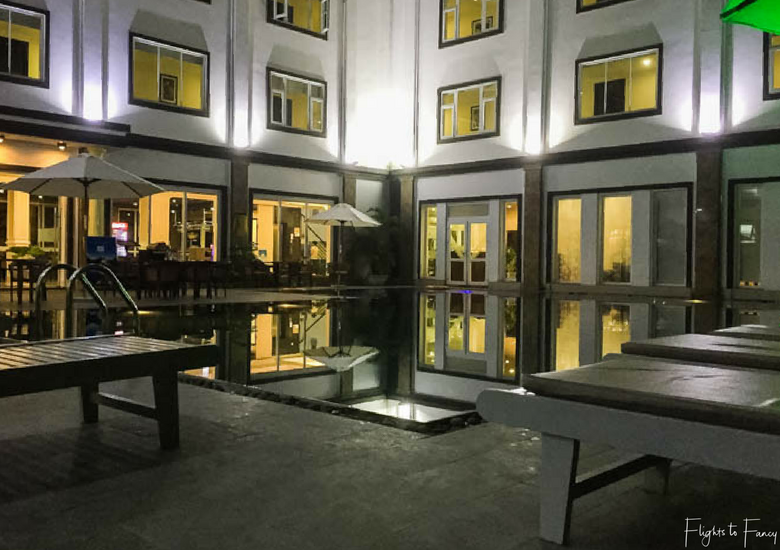 Flights To Fancy: Hoi An Sincerity Hotel Luxury Accommodation in Hoi An Hotel Pool At Night