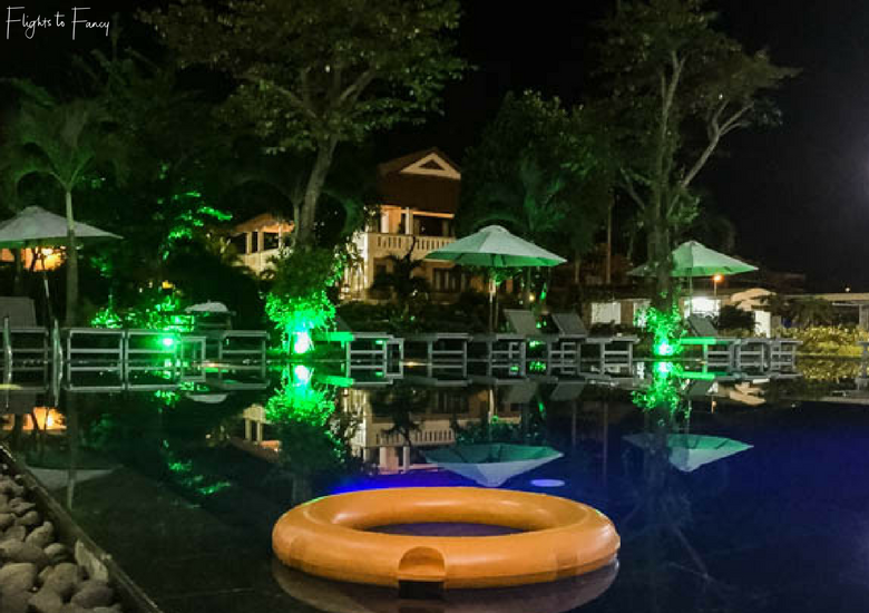 Flights To Fancy: Hoi An Sincerity Hotel Luxury Accommodation in Hoi An - Pool At Night