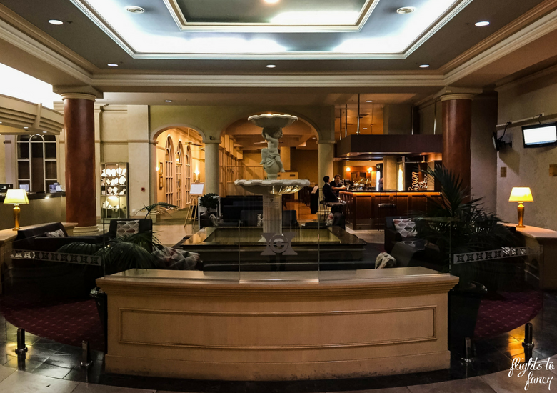Flights To Fancy: Hotel Grand Chancellor Launceston Location & Value - Lobby