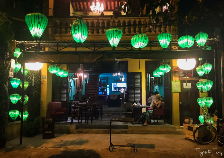 Flights To Fancy: Mix Greek Restaurant Hoi An - Exterior