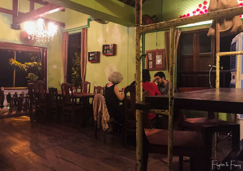 Flights To Fancy: Mix Restaurant Hoi An - Mix Greek Restaurant Dining Room