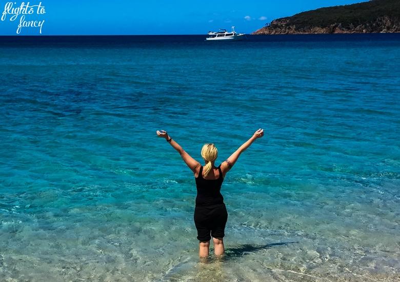 Flights To Fancy: Tasmanian Road Trip - Wineglass Bay Beach