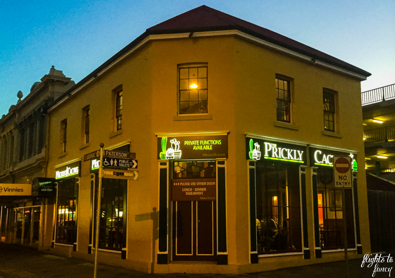 Flights To Fancy: The Prickly Cactus Launceston A Twist On Mexican - Exterior