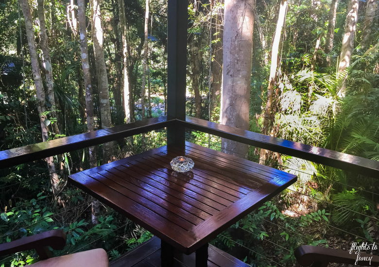 Flights To Fancy: Silky Oaks Lodge Mossman Queensland - Balcony
