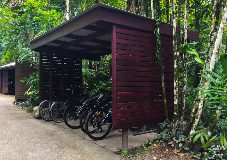 Flights To Fancy: Silky Oaks Lodge Mossman Queensland - Bikes