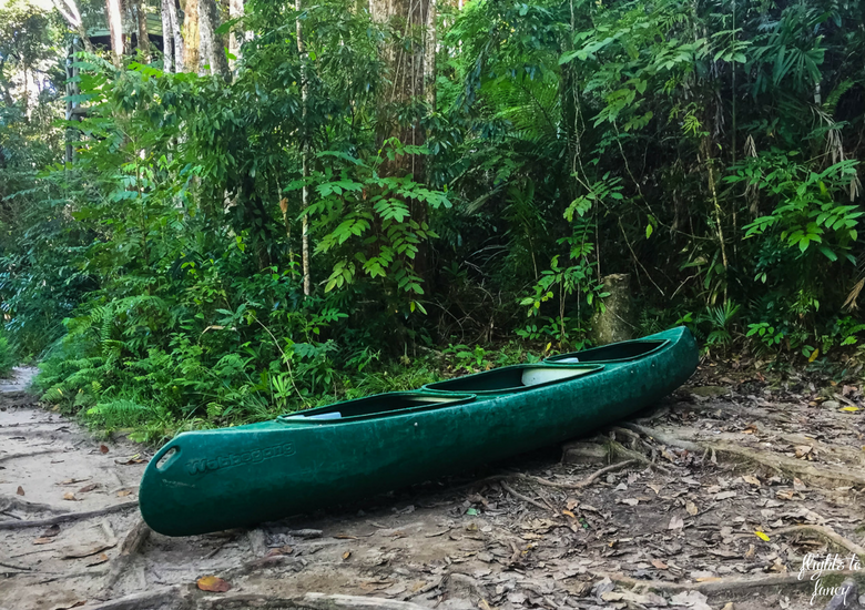 Flights To Fancy: Silky Oaks Lodge Mossman Queensland - Canoe
