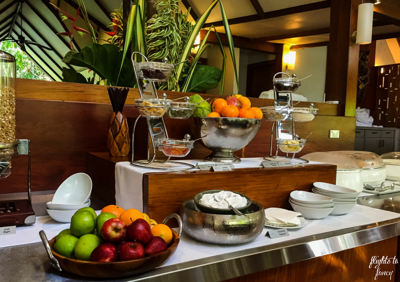 Flights To Fancy: Silky Oaks Lodge Mossman Queensland - Cold Buffet